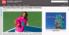 Greece, Athens Macedonian News Agency, Stefanos Tsitsipas(20yrs) from Athens, reaches Toronto final against Rafael Nadal,  after stunning wins against Novak Djokovic, Alexander Zverev &  Kevin Anderson (Macedonia Travel & News) Tags: greecemacedonia macedoniatimeless macedonian ancientgreek culture vergina sun airport island thessaloniki philippi hellenic republic prilep tetovo bitola kumanovo veles gostivar strumica stip struga negotino kavadarsi gevgelija skopje debar matka ohrid mavrovo heraclea lyncestis history alexander great philip macedon nato eu fifa uefa un fiba macedonianstar verginasun aegeansea македонијамакедонскимакедонци macedonianews macedoniapress macedoniasports trackfield gymnastics tennis greekmacedonian