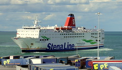 18 08 10 Stena Europe arriving Rosslare (25) (pghcork) Tags: stenaline ferry ferries carferry stenaeurope ireland wexford rosslare ships shipping