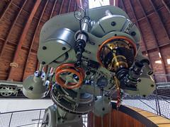 300mm Zeiss Refractor, Deutsches Museum, Munich (herbraab) Tags: astronomy observatory telescope refractor dome germanmuseum deutschesmuseum canoneos550d tokinaaf1116mmf28