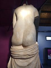 Baglio Anselmi - Marsala, Italy (melqart80) Tags: marsala archeologia italy sicilia sizilien sicile venere greciaantica sculpture botton sedere