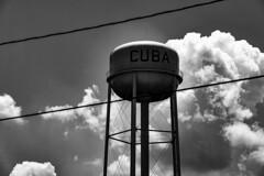 Cuba, Missouri (Johan Gustavsson) Tags: cuba missouri roadtrip route66 watertower vattentorn bw blackandwhite svartvit svartvitt johangustavsson