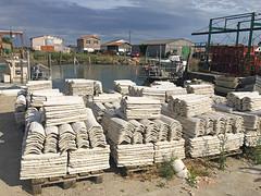 Bassin d'Arcachon : Gujan Mestras (Maillekeule) Tags: aquitaine gironde bassin arcachon gujan mestras port huitre ostreicole ostreiculture tuile
