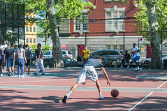 1358_0260FL (davidben33) Tags: brooklyn ny crown height summer 2018 park sport basketball people children 718 plaj joi trees bushes sporting field