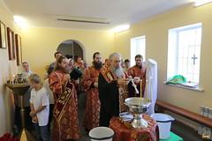 10. Водосвятный молебен с акафистом в с. Маяки 09.08.2018