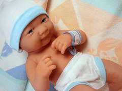 So sweet... 😍 (Deejay Bafaroy) Tags: calinou berenguer doll puppe newborn baby blue blau hellblau white weiss cute sweet niedlich süss herzig portrait porträt lanewborn jctoys lightblue