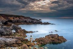 Cloudy dawn (malcbawn) Tags: dawn northsea northeast fujifilmxt2 landscape cloudy rocks