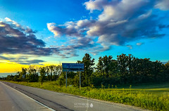 Winnipeg, Manitoba (Motoroil Photography) Tags: 2018 canada manitoba motoroilphotography to416 travel winnipeg ca sign roadsign sunset landscape highway75 lordselkirkhighway tourism touristattraction tourist tofouronesix to416original