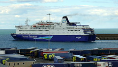 18 08 10 Oscar Wilde departing Rossalre  (3) (pghcork) Tags: oscarwilde rosslare ferry ferries carferry irishferries ireland wexford