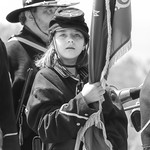 Union Flag Bearer (Black and White) thumbnail