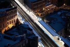 Chicago | Damen Blue Line (garetttrotter) Tags: rooftop robey hipster wickerpark cta train subway damen blueline chicago