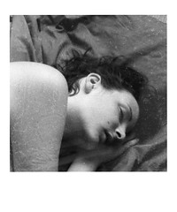 The Unknown Dream. (35mm) | Exp. AgfaPan 400 Professional. (samuel.musungayi) Tags: art artwork film negativo negative négatif scan pellicule pelicula 24x36 135 35mm 35 mm nikon f3 hp nikkor mono monochrome noir et blanc black white texture photography photographie fotografia samuel musungayi argentique analog life light mood 400 test candid agfa agfapan pan expired found woman femme sleeping asleep