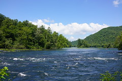 Almost Heaven (poeticverse) Tags: almostheaven heaven hiwasseeriver reliance reliancetenm river mountains beauty beautiful july tennessee rafting canoe kyak