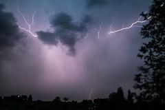 LIghtning Strikes (Anna Gurule) Tags: lightening storm skies stormy clouds cloudyskies eveningclouds