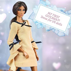 Hello Dolly friends! I am organizing an Instagram Giveaway for one of my fashions! Check link below (Regina&Galiana) Tags: fashionroyalty integritytoys barbie doll nuface fashion dress giveaway elyse agnes giselle eugenia erin eden lilith