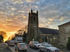 Rishton, Blackburn, Lancashire (PaChambers) Tags: rishton blackburn lancashire england uk britain northwest church sunset