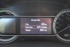 Kia Niro Trip 20km 3.7L/100km (D70) Tags: best ever result trip hilly windy island country roads miles per gallon uk7635 us6357