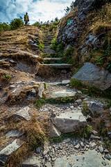 Stone Stairs... (gabormatesz) Tags: southlakelanddistrict england unitedkingdom gb canon canon80d landscape hill hillside touristroute nature photography 1018mm stone stones