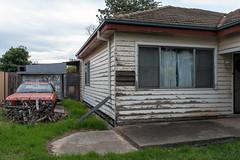 Tottenham (Westographer) Tags: tottenham melbourne australia westernsuburbs suburbia derelict weathered deserted abandoned house home holden patina australiansuburbia