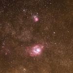 Lagoon & Trifid Nebulae thumbnail