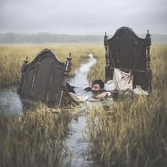 VUOT_O (thewickedend - Nicolas Bruno) Tags: nicolas bruno nicolasbruno sleep paralysis sleepparaylsis dreams nightmares bed marsh swamp surreal 365 conceptual