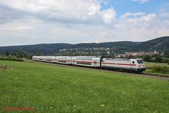 DB BR 146 553 (Bradley Morey) Tags: db deutsche bahn br 146 traxx möhringen singen stuttgart hbf fernverkehr ic bombardier twindexx trainspotting train
