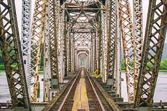 For the Highway Instead (Thomas Hawk) Tags: america oregon oregoncoast reedsport usa unitedstates unitedstatesofamerica bridge trainbridge us fav10 fav25 fav50 fav100
