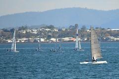 800_4399 (Lox Pix) Tags: queensland qld australia woodypoint hyc humpybongyachtclub winterbash foiling foilingcatamaran catamaran trimaran loxpix bramblebay boats