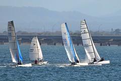 800_4986 (Lox Pix) Tags: queensland qld australia catamaran trimaran hyc humpybongyachtclub winterbash loxpix foilingcatamaran foiling bramblebay sailing race regatta woodypoint boat