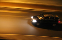 Auto in Fahrt (deczak) Tags: car auto darkness dunkelheit road strase licht lights driving fahren