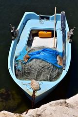Fishing boat (MarkusR.) Tags: mrieder markusrieder nikon d7200 nikond7200 vacation urlaub fotoreise phototrip italy2018 italy 2018 italien sardinia sardinien kurzurlaub shortbreak orosei beach strand boot boat fischerboot fishingboat