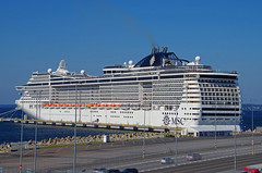 MSC PREZIOSA - Tallinn Estonia (scotrailm 63A) Tags: ships vessels boats msc