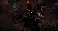 Demon Horsey (Nikosunrise) Tags: demon horse throne sl second life cock cum