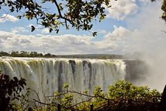 Victoria Falls (Jacques Teller) Tags: victoriafalls zimbabwe africa falls water waterscape heritage worldheritage livingstone sky clouds trees nikond7200 jacquesteller waterfall vicfalls