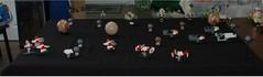 Mobile Frame Zero: Intercept Orbit Game 7-28-18 (Mantis.King) Tags: lego legogaming legowargaming moc mechaton microscale mobileframezero mf0 mfz interceptorbit scifi space spaceship futuristic wargames actualplay