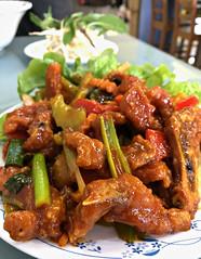 2018 Sydney: Pork in spicy tomato sauce (dominotic) Tags: 2018 food lunch meal huonggiangvietnameserestaurant iphone8 yᑌᗰᗰy innerwestsydney porkinspicytomatosauce marrickville australia