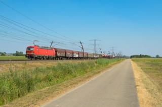 DB Cargo 193 311, Angeren