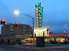 Garland Theatre (John Coursey) Tags: garland streamline artdeco neon urban spokane washington wa marquee movies theater theatrecinemaejcoursey