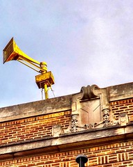 Decommissioned siren (neilsharris) Tags: abandonedchicago