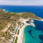 Aerial photo of the camping site Camping Paliouri thumbnail