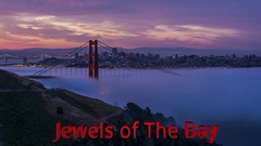 Jewels Of the Bay (Jaykhuang) Tags: timelapse bayarea goldengatebridge lowfog baybridge trivalley sanfrancisco california fullmoon milkyway movement jayhuangphotography