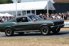 The Ford Mustang from the film Bullitt. (fjnige) Tags: ford mustang car iconic steve mcqueen bullitt nikon nikkor d7100 goodwood