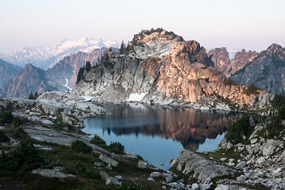 Dawn in the Alpine Lakes Wilderness