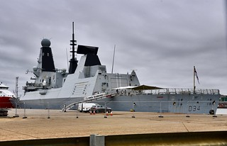 HMS Diamond - Aberdeen Harbour Scotland - 12/8/18