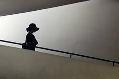 Villa Savoye (erichudson78) Tags: france iledefrance yvelines poissy villasavoye architecture silhouette canonef24105mmf4lisusm canoneos6d lecorbusier chapeau hat 7dwf minimalist