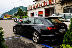 Audi A6 Station Wagon (A. Wee) Tags: lakecomo 科莫湖 italy 意大利 varenna 瓦伦纳 audi a6 estate avant 奥迪 stationwagon