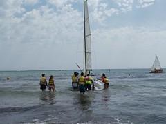 Campamento de verano náutico (hotelplayaoliva) Tags: sol playa verano valencia oliva surf campamentos campamento