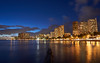 Sunset in Waikiki, Hawaii (MarianoJT88) Tags: hawaii ocean waikiki honolulu travel sunset longexposure sony