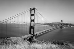 That Bridge (Thomas Hawk) Tags: 75thbirthdaygoldengatebridge america batteryspencer california goldengatebridge marin marinheadlands sanfrancisco usa unitedstates unitedstatesofamerica bridge bw fav10 fav25 fav50 fav100