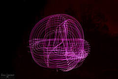 Whirlwind Light Streaks (Fraser8888) Tags: longexposure light lightbar glowstick nikon 30sec d60 35mm canada vernon bccolor colours fantasy anotherworld