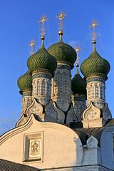 Купола Успенской церкви. Domes of the Assumption Church (atardecer2018) Tags: православие нижнийновгород orthodox 2017 architecture